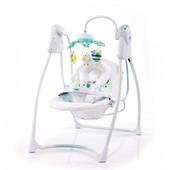 кресло-качели Mioo Light Star бирюзово-белый (BS20203 green)