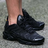 Кроссовки Nike Air Max Tn Black, р. 41-45, код mvvk-1188