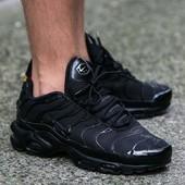 Кроссовки Nike Air Max Tn Black, р. 41-45, код mvvk-1188