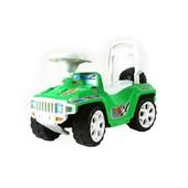 Машинка для катания зеленая 419