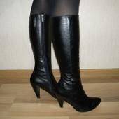 Шкіряні весняні чобітки сапоги весенние кожаные 39р(25.5см)