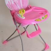 Стульчик для кормления детский, Bambi GL 289 Pink