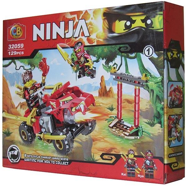 Конструктор ниндзяго ninja супер джип 8 видов фото №1