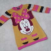 теплое платье с Минни р.86-92