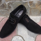 Туфли мужские. А-100. натуральная замша