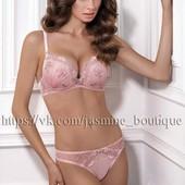 Продам нежный и красивый комплект Jasmine Lingerie цвета лотос с изысканной вышивкой