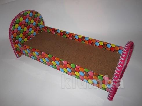 Кукольная кроватка для куколки барби фото №1