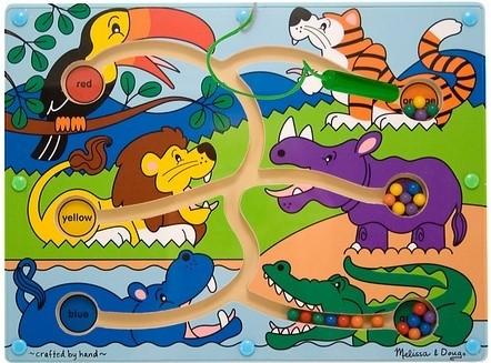 Цветовой магнитный лабиринт, melissa&doug артикул: md2279 фото №1