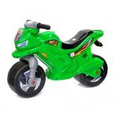 Мотоцикл 2-х колесний зеленый BOC034473