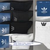 Носки мужские Adidas с сеткой 3 модели х/б средние, 41-46 р.