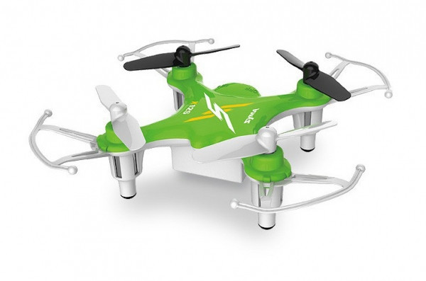 Квадрокоптер nano syma x12s зеленый фото №1