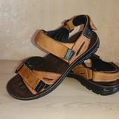 Босоножки сандалии Grit England 42р 27.5 см липучки кожа