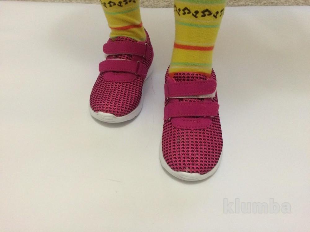 Детские кроссовки (ткань) маломерят фото №3