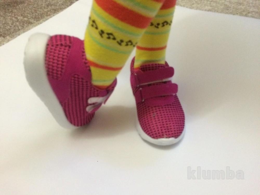 Детские кроссовки (ткань) маломерят фото №4