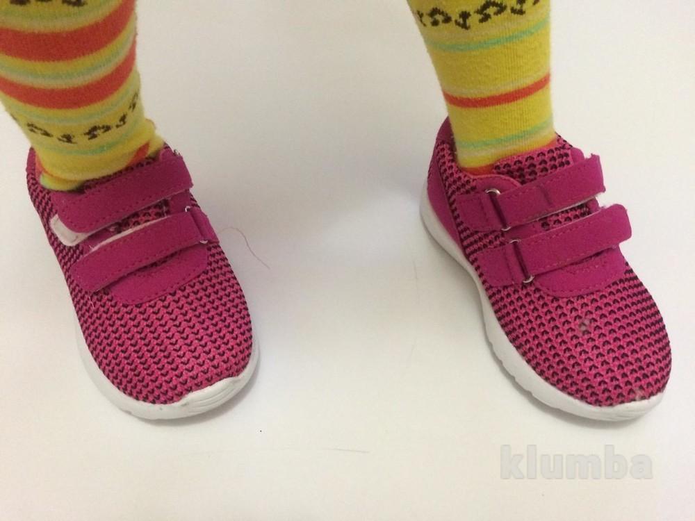 Детские кроссовки (ткань) маломерят фото №5