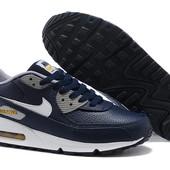 Кроссовки Nike Air Max 90 Premium ltr - синие