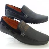 """Распродажа ! Levi""""s model (№91) чёрные ! Кожаные мужские мокасины !!!"""