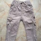 Штаны на мальчика фирмы Nutmeg размер 80-86 на возраст 12-18 мес