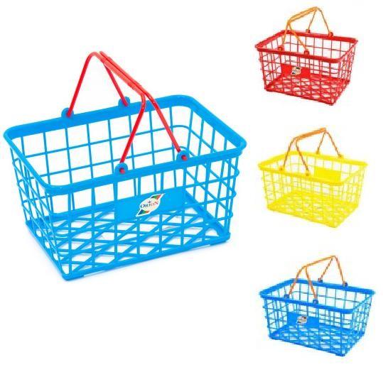 Корзинка малая для покупок игрушечная орион 423 разные цвета фото №1