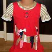 George (2-3 года) хлопковое платье