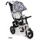 Велосипед 3-х колесный Mini Trike Zoo Зебра