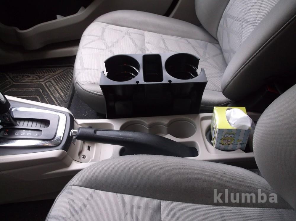 Подставка в машину для бутылок, держатель для напитков car valet фото №2