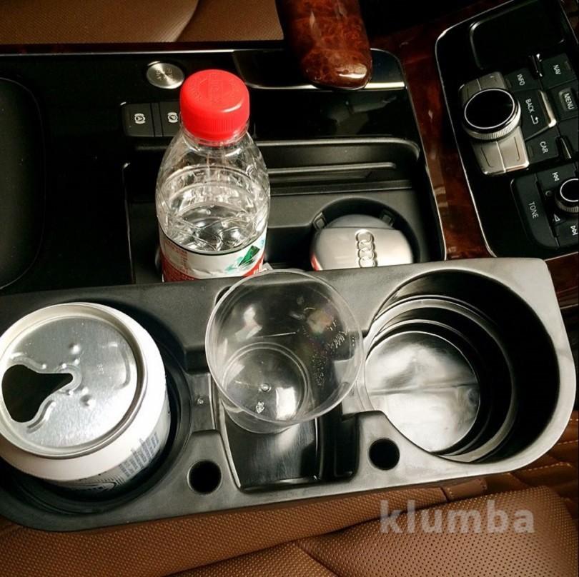 Подставка в машину для бутылок, держатель для напитков car valet фото №3