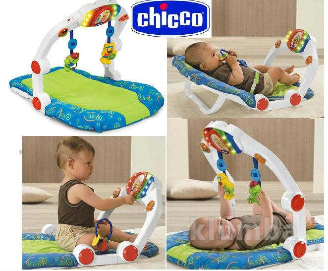 Игровой центр chicco ergo gym от 0 до 9+ в идеальном состоянии. блиц +юла chicco фото №1
