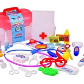 Большой набор Доктор Joy Toy Волшебная аптечка в чемодане Артикул: 2552