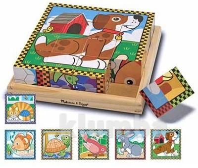 Кубики «домашние животные», melissa&doug артикул: md3771 фото №1