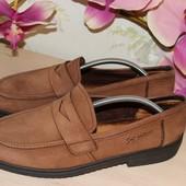 Натур.кожа монки лоферы туфли мокасины Rohde Германия 44