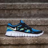 Кроссовки Nike Free Run 2, р. 41-45, кожа, код mvvk-1118