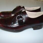 Шикарные лаковые туфли Clarks Narrative (кожа, оригинал), р 5 , полнота D, стелька 24,5 наш 38 разме