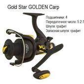 Катушка Gold Star Golden Сarp 60 (4 подш.+1шп.)