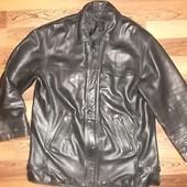 Натуральная кожаная куртка Утеплена Отличное состояние