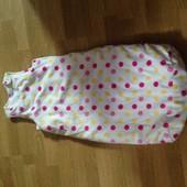 Ergee теплый спальный мешок  (состояние нового) 1-2 года