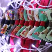 Галстук-бабочка Lazy tie (новый год)