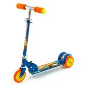 Самокат детский 3-х колесный металлический складной 466-363. Разные цвета