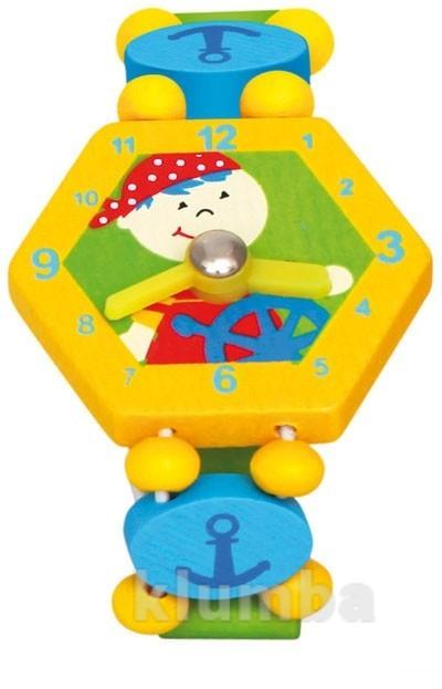 Часы «пират», желтые, bino артикул: 86038 фото №1