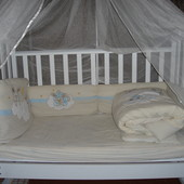 Детская кроватка Верес с постельюFeretti,балдахином и кокосовым матрасиком!