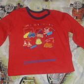 футболка с рукавами на мальчика 3-4 года