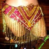 Пояс-юбка для восточных танцев