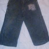 штанишки вельветовые на мальчишку ростом 80 см