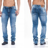 W1173 Стильные светлые джинсы 30-38 рр