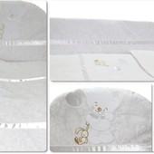 Защитное ограждение в детскую кроватку для новорожденных
