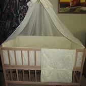 Детское постельное белье жаккард - комплект  9 предметов!