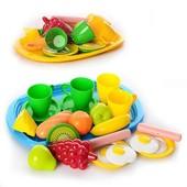 Поднос завтрак с продуктами Орион 955 в.2 игрушечные фрукты посудка