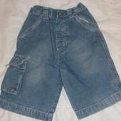 шорты джинсовые (бриджи) на мальчика 2-3 года