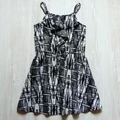 Стильное лёгкое платье для девочки.  Next. Размер 6 лет