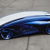 Кровать-машина Chevrolet NEW